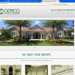 Website Design for CEMCO Construction Sebastian FL
