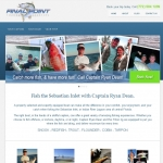 Website Design for Final Point Charters Sebastian FL