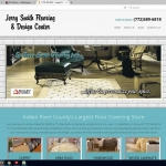 Website Design for Jerry Smith Flooring VeroBeach