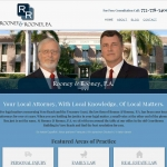 Website Design for Law Firm of Rooney & Rooney Vero Beach FL