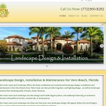 Website Design for Palm Coast Lawn And Landscape Vero Beach, FL